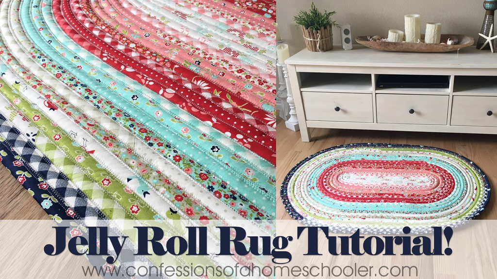 Jelly Roll Rug Tips and Tutorial!