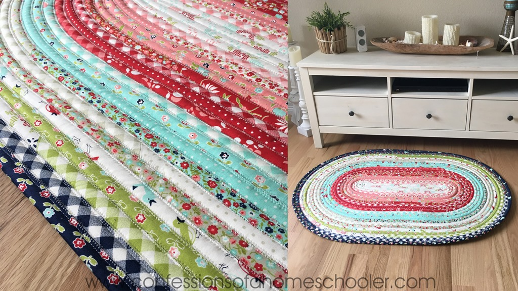 Jelly Roll Rug Tips and Tutorial