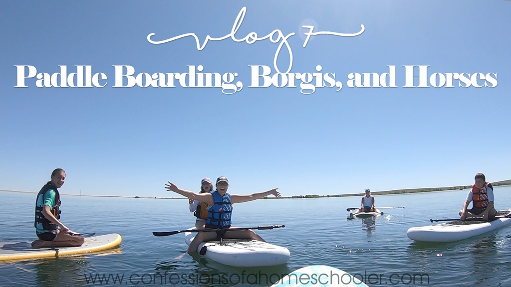 Paddle Boarding, Horses, Borgi's and Horses–Vlog 7