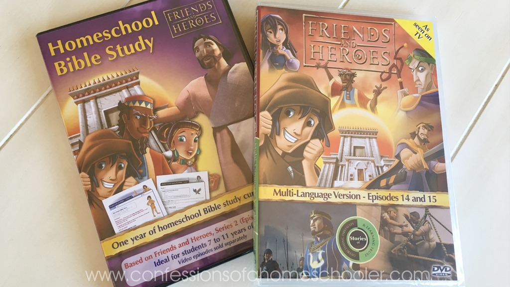 Friends and Heroes Homeschool Series 1 CD-ROM