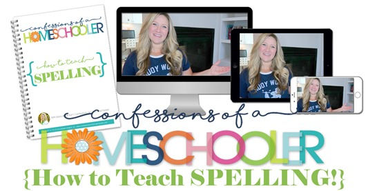 How to Teach Spelling eCourse!