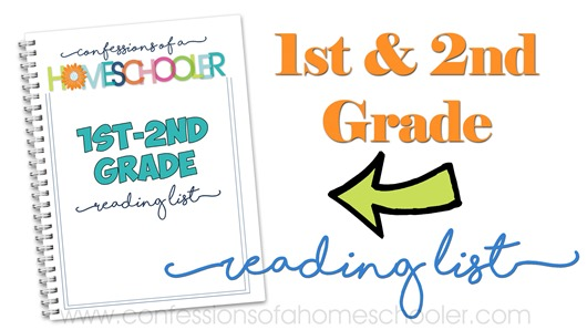 1st–2nd Grade Reading List