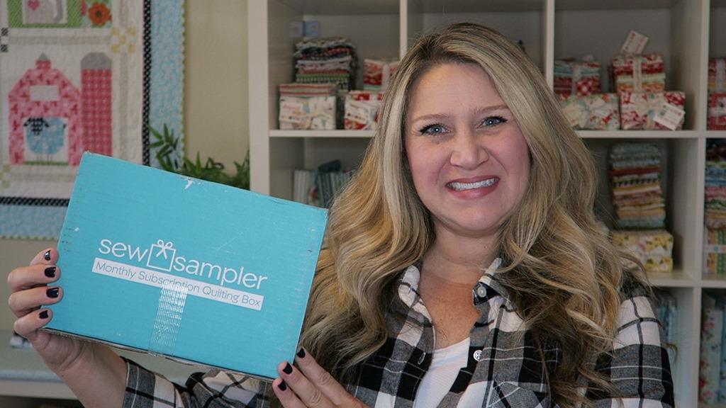 September 2018 Sew Sampler Unboxing!