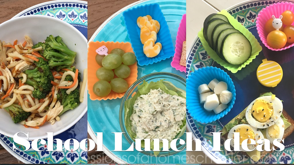 School Lunch Ideas for Kids // Episode 1