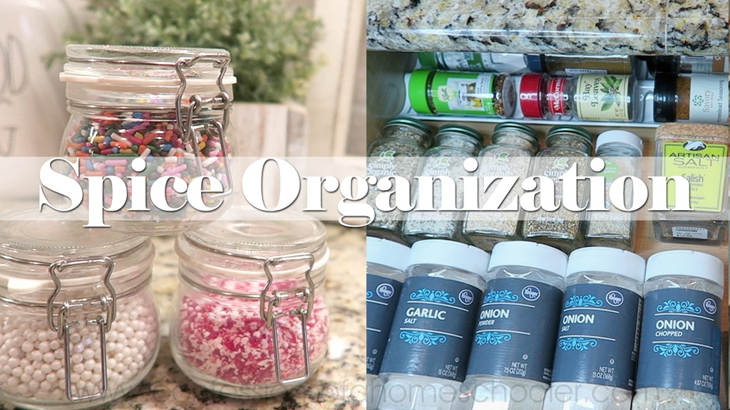 Spice Cabinet Makeover | Organization!