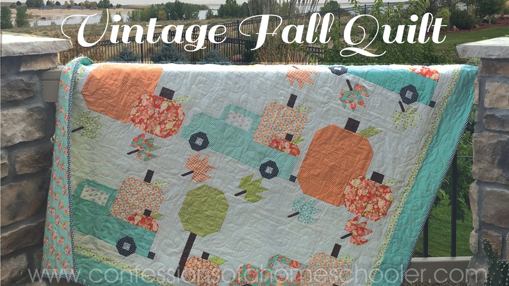 Vintage Fall Quilt Pattern Confessions Of A Homeschooler