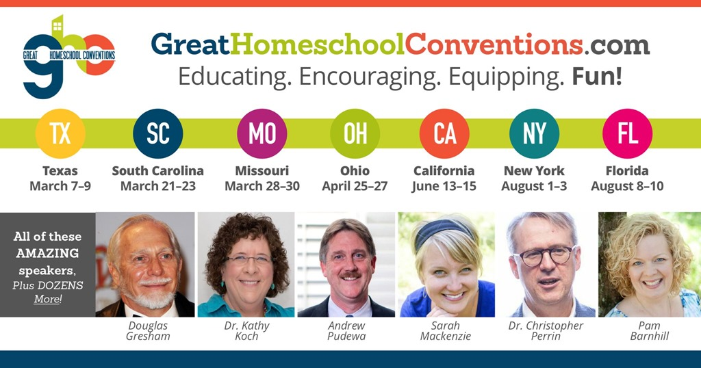 2019 Great Homeschool Conventions