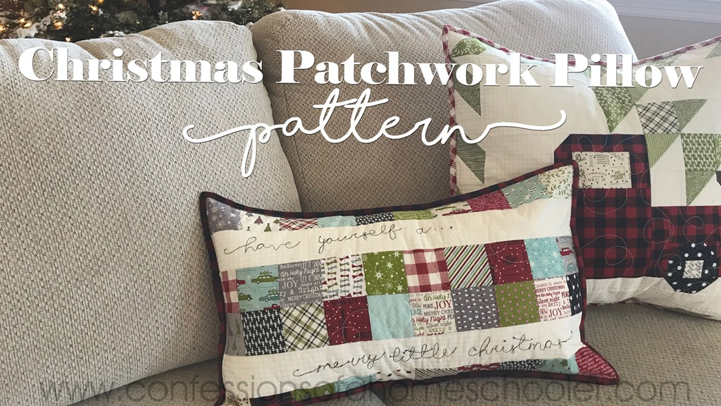 Christmas Patchwork Pillow Pattern