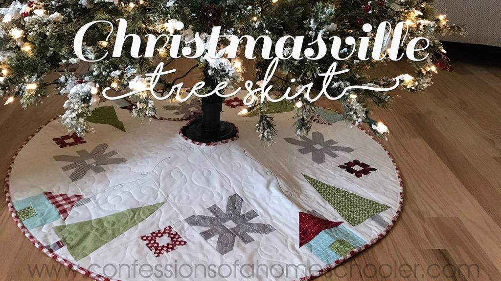 Christmasville Tree Skirt Pattern