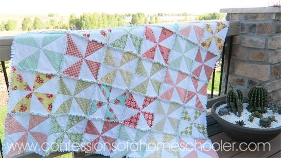 How to Make a Rag Quilt 2
