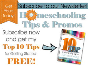 Homeschooling Tips & Promos