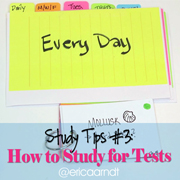 Study Tips 101: How to Study for Tests