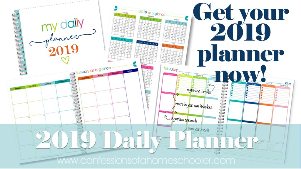 2019 Daily Planner