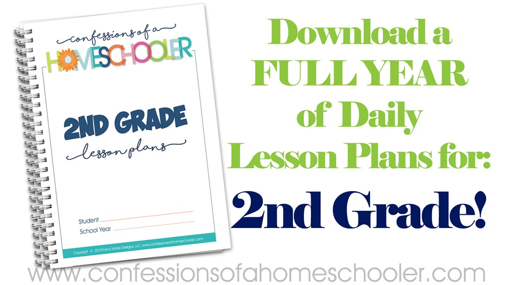 2nd Grade Homeschool Lesson Plans