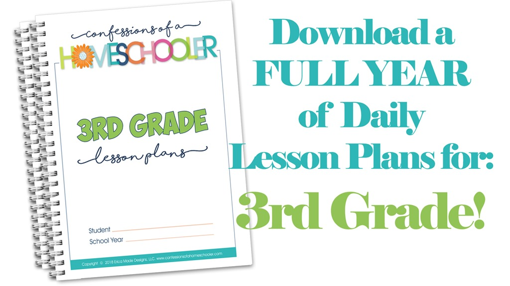 3rd Grade Homeschool Lesson Plans
