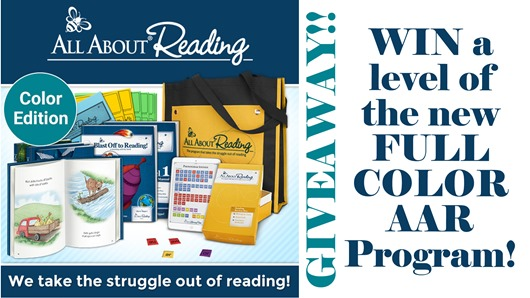 All About Reading Color GIVEAWAY!!