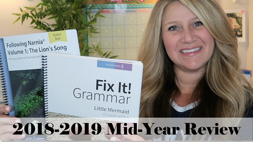 2018-2019 Mid-Year Homeschool Curriculum Review