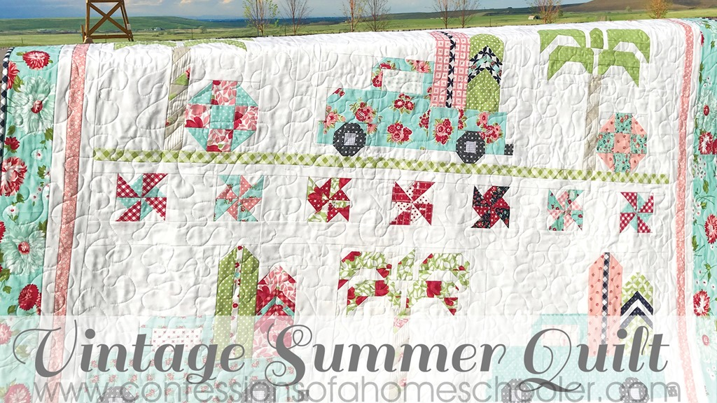 Vintage Summer Quilt Along Kick Off!