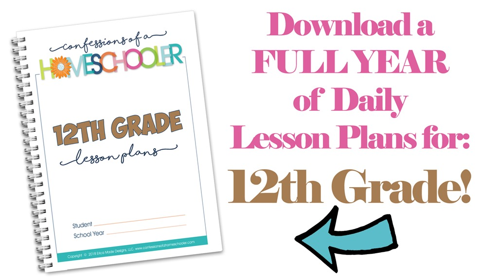 Twelfth Grade Homeschool Lesson Plans