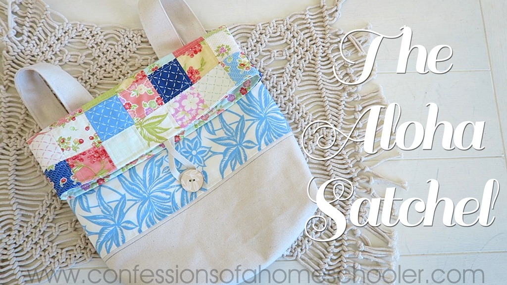 The Aloha Satchel Sewing Tutorial