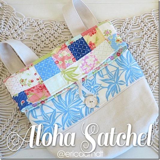 The Aloha Satchel Sewing Tutorial
