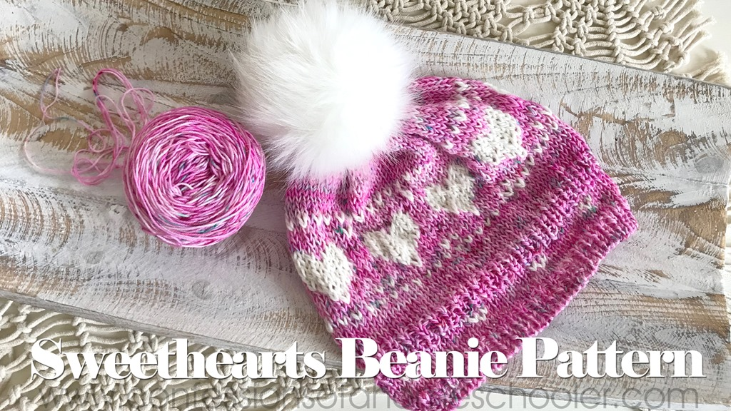 Sweethearts Knit Beanie Pattern