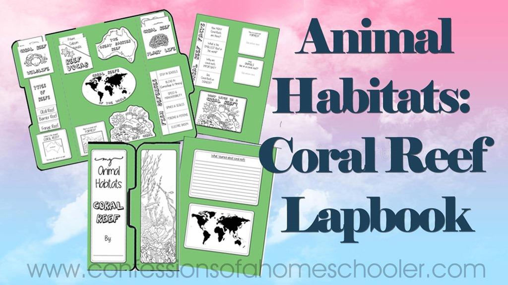 Animal Habitats: Coral Reef Lapbook