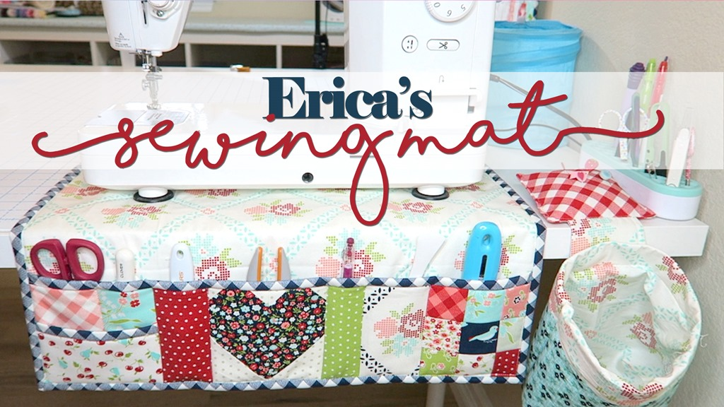 Erica's Sewing Machine Mat Tutorial