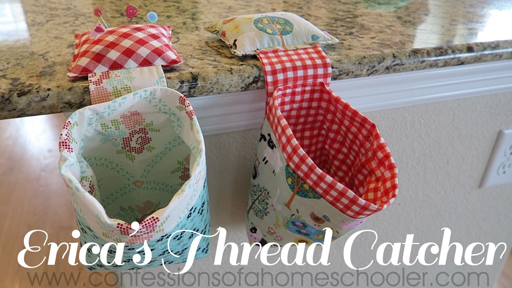 Erica's Easy Thread Catcher Video Tutorial!