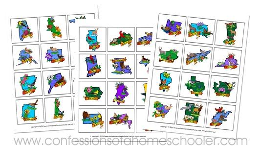 state_lapbook_states