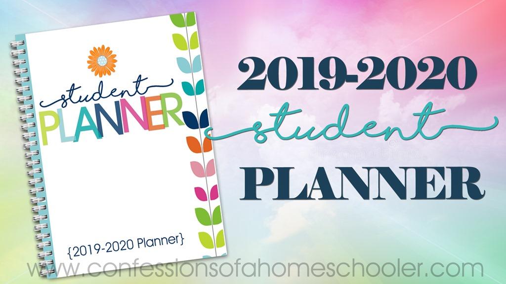 2019-2020 Student Planner