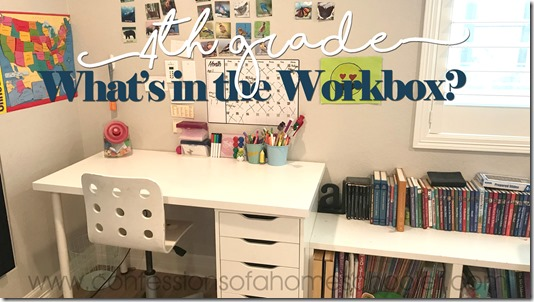 What's in the Workbox: 4th Grade