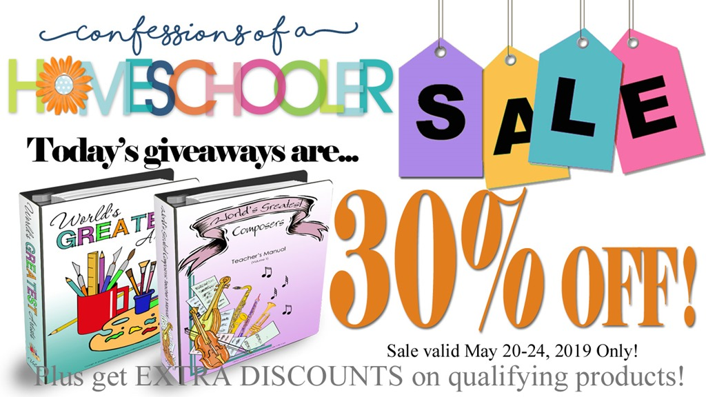 Day 4: Homeschool Curriculum Sale!!