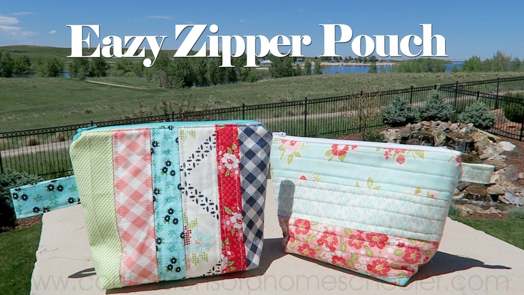 Easy Zipper Pouch // Sewing Tutorial!