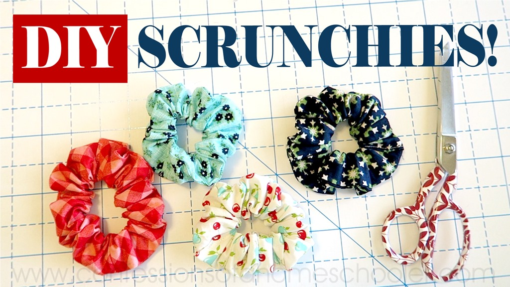 EASY DIY Scrunchie // Sewing Tutorial