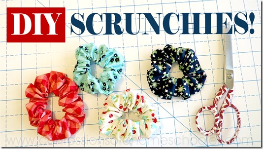 DIYScrunchies