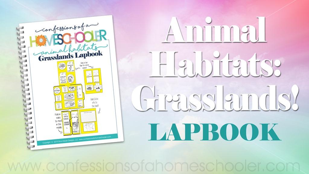 Animal Habitat: Grasslands Lapbook