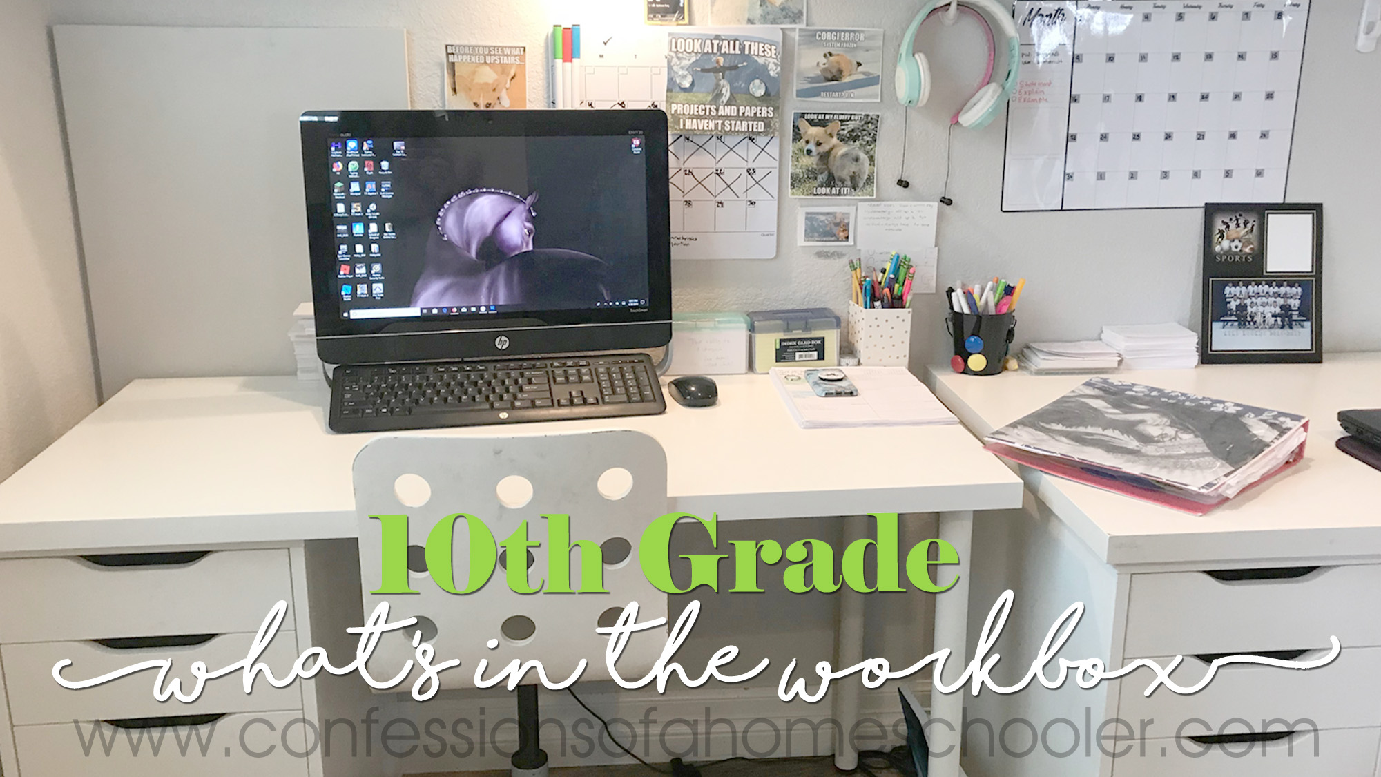 What's in the Workbox: 10th Grade