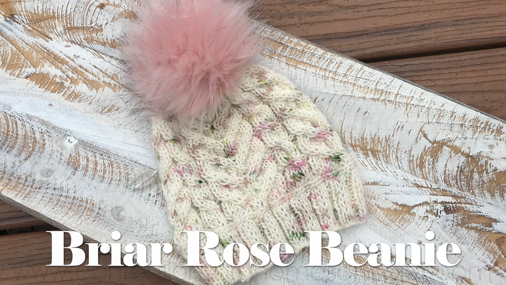 The Briar Rose Knit Beanie Pattern