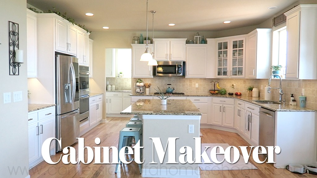 Our Kitchen Cabinet Makeover!