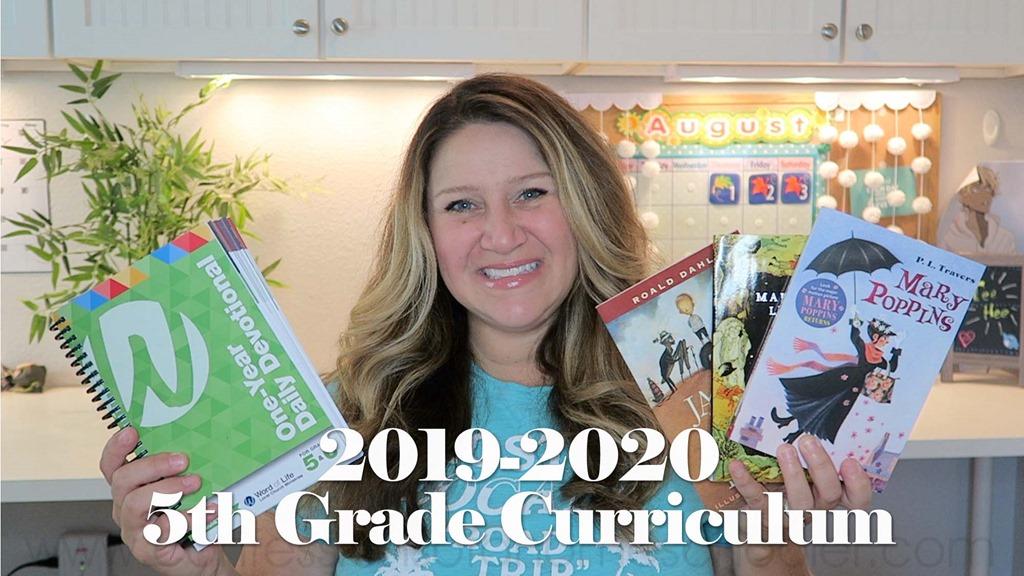 2019-2020 5th Grade Curriculum