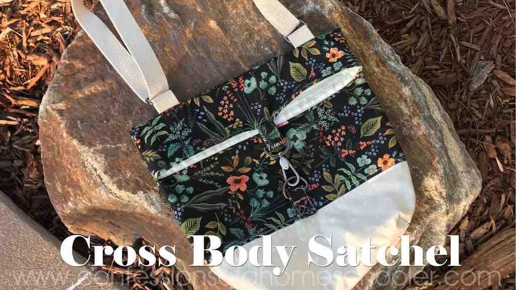 Erica's Adjustable Strap Cross Body Satchel Tutorial