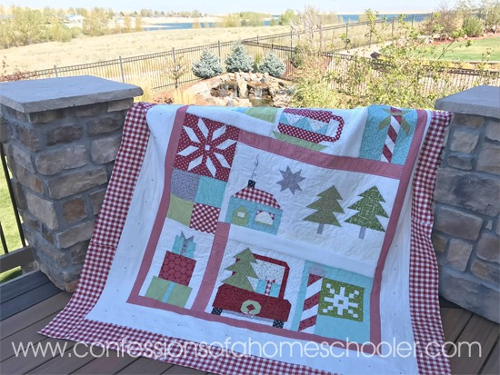 Snowy Day Quilt Pattern Confessions Of A Homeschooler