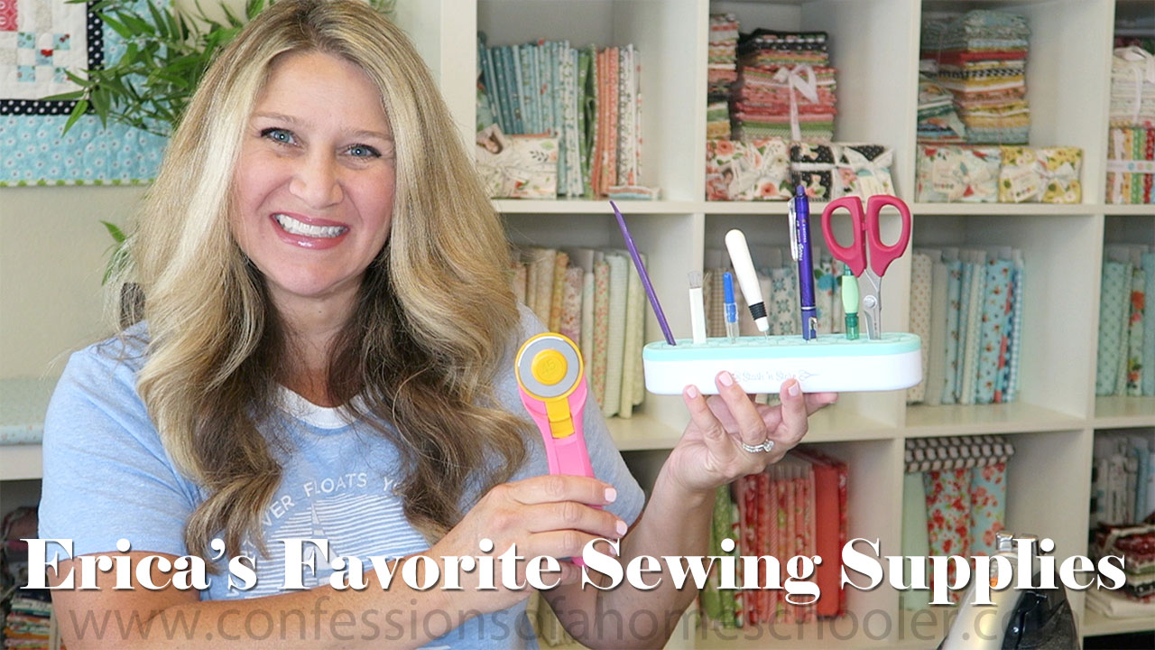 Erica's Favorite Sewing Supplies