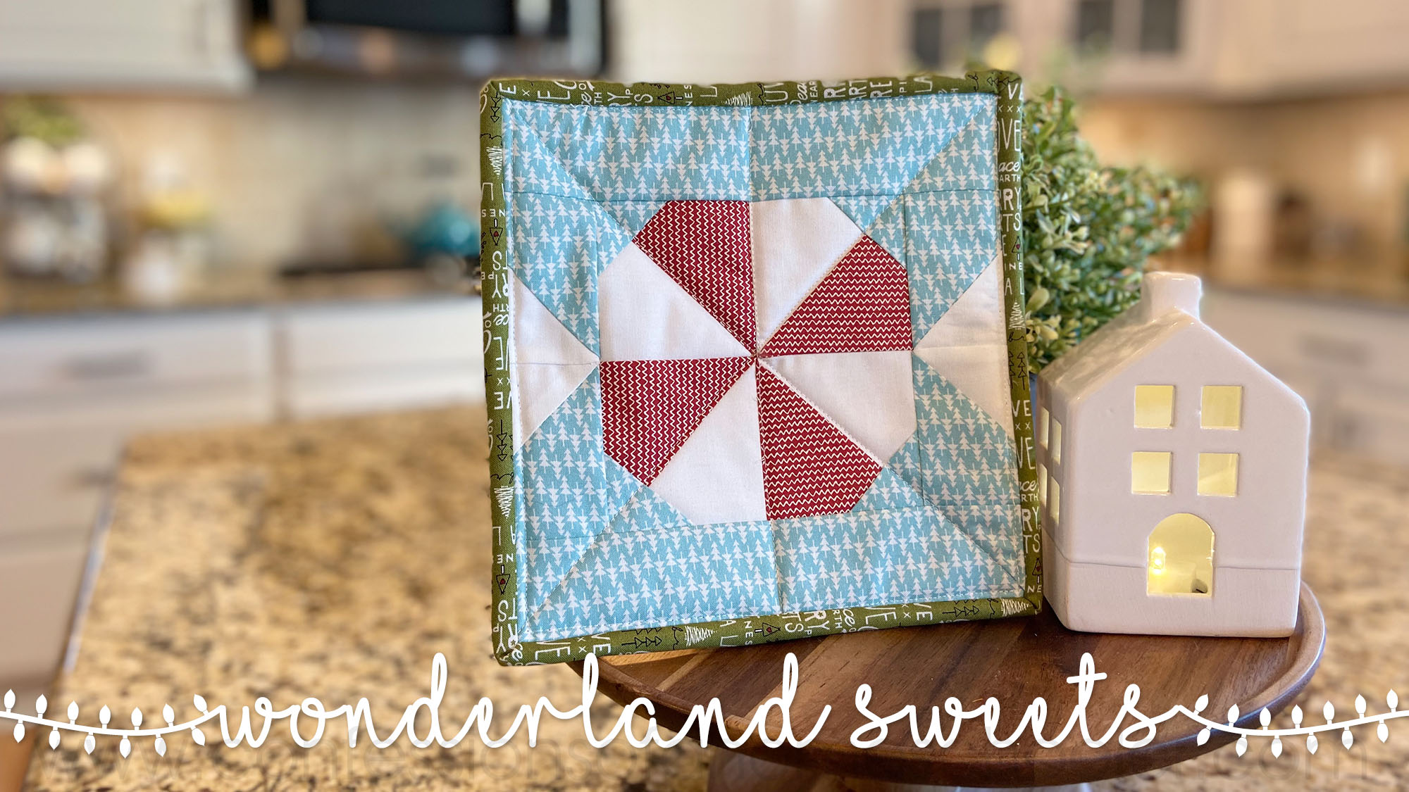 Wonderland Sweets Pot Holder Pattern