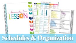 Schedules & Organization