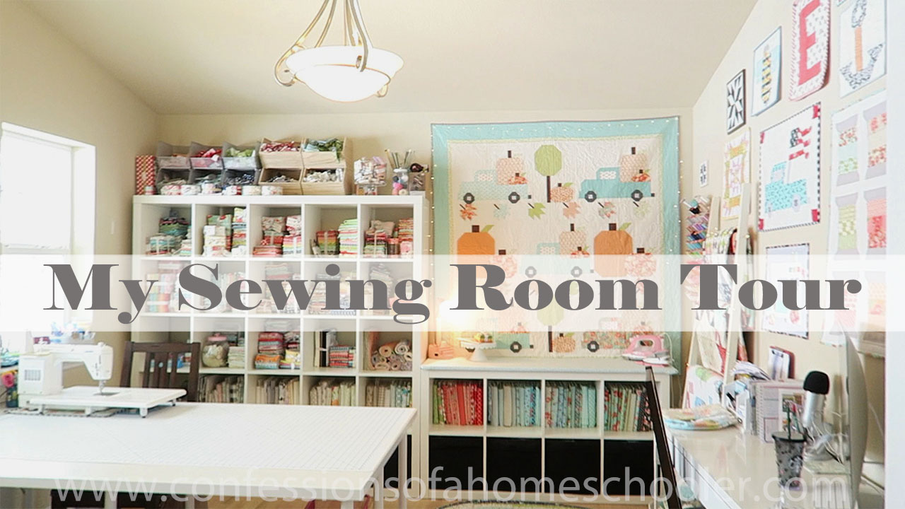 Updated Sewing & Craft Room Tour 2020