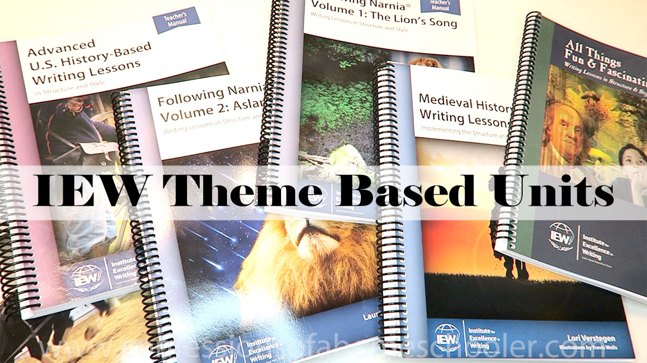 IEW Theme Based Writing Units Review