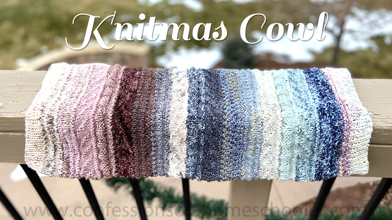 Knitmas Cowl Advent Knit Pattern
