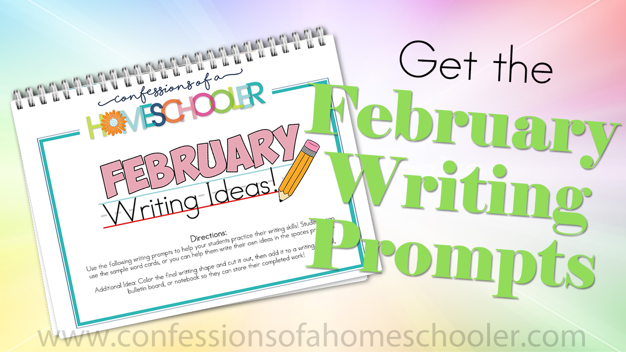 February Kindergarten Writing Prompts